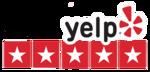 Yelp five star rating