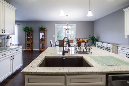 custom kitchen island in dallas