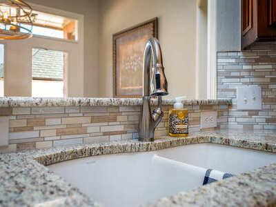 kitchen backsplash in a Dallas home