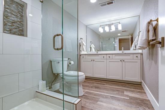 master bathroom remodel in north dallas